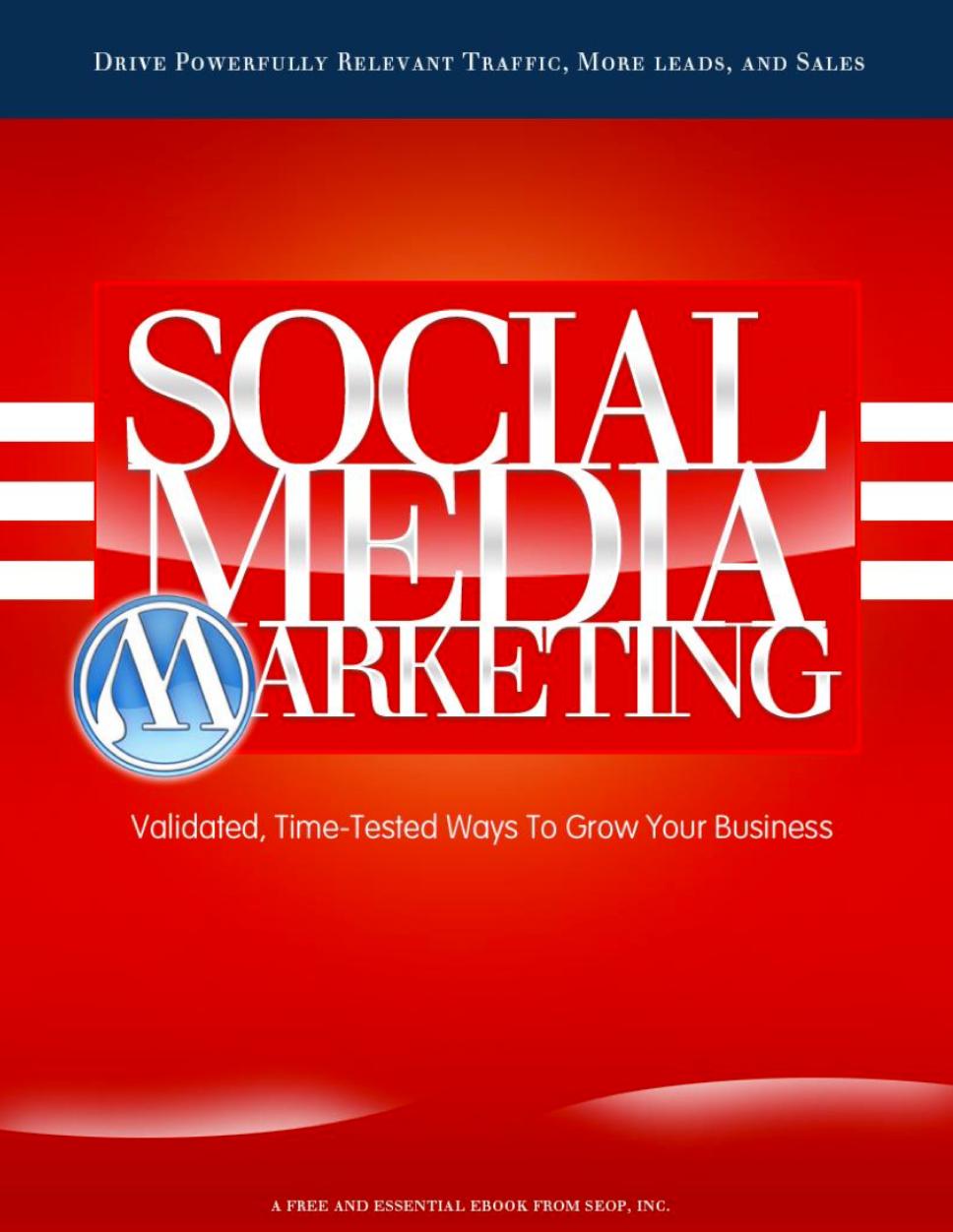 Social Media Marketing eBook at Social-Media.press