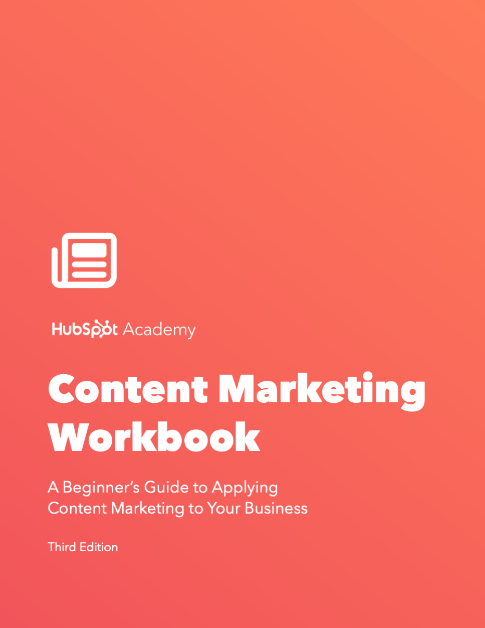 Content Marketing Workbook by HubSpot at Social-Media.press