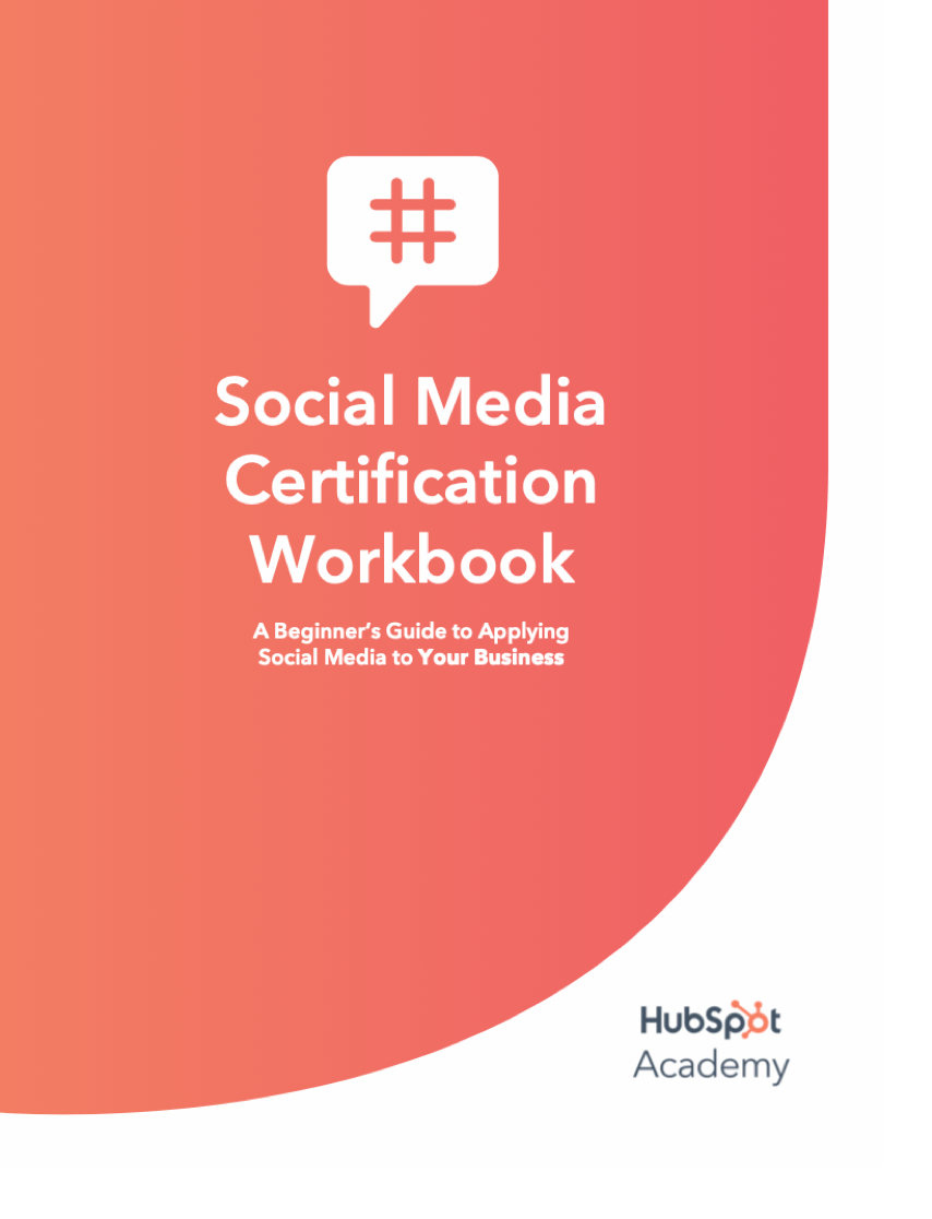 Social Media Certification Workbook at Social-Media.press