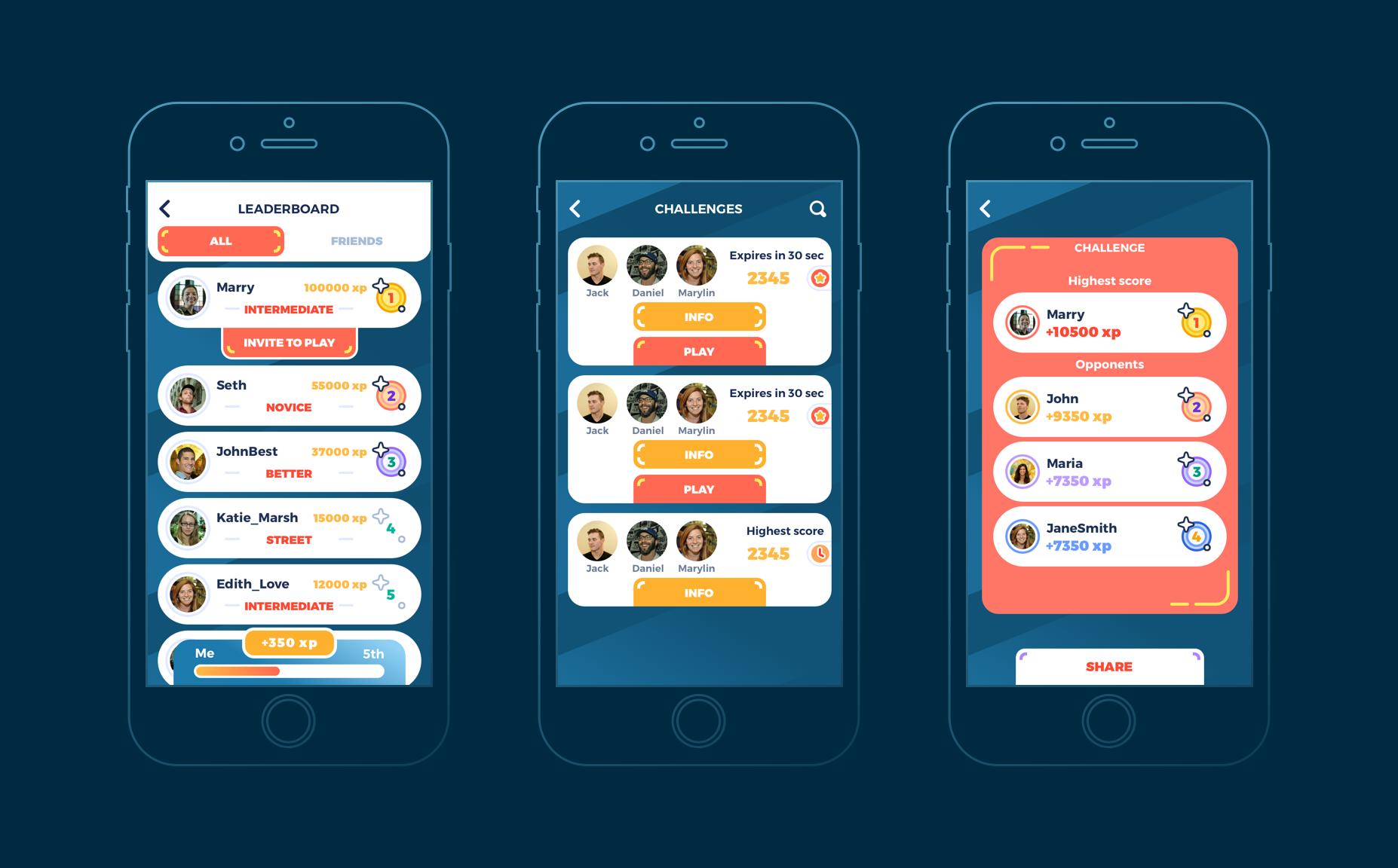 Mobile Games UI